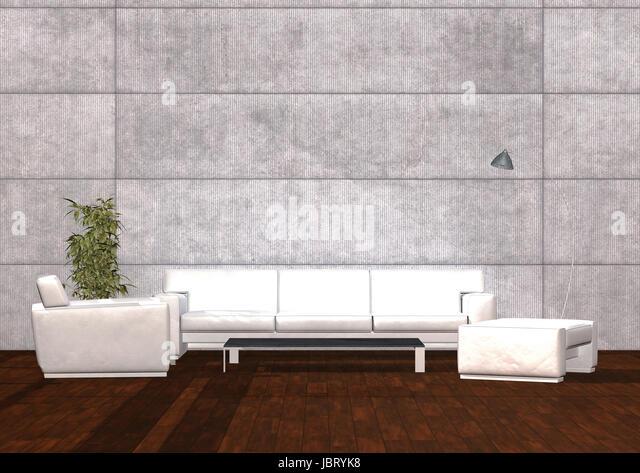 Betonwand stock photos betonwand stock images alamy - Betonwand wohnzimmer ...