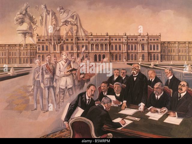 Treaty Of Versailles 1919 Stock Photos & Treaty Of Versailles 1919 ...