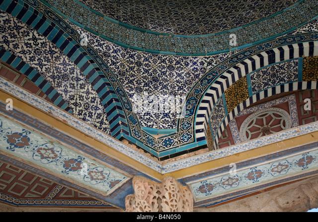 Mosaics Dome Of The Rock Stock Photos & Mosaics Dome Of ... Dome Of The Rock Interior Mosaic