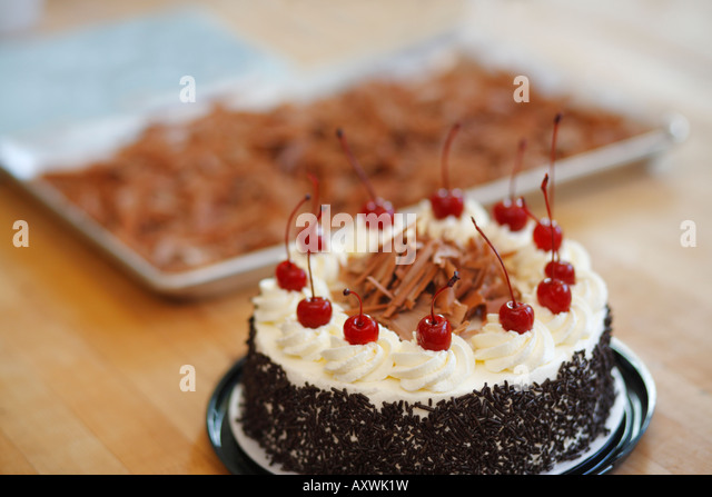 Niederegger Black Forest Marzipan Cake