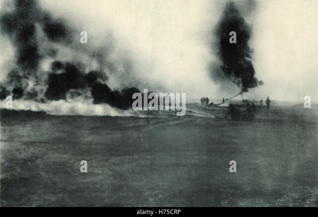 The War on the Italian Front: Arditi at drill, Italy - Stock Image
