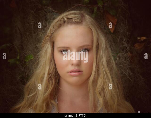 Beauty in the woods 3 - Stock-Bilder