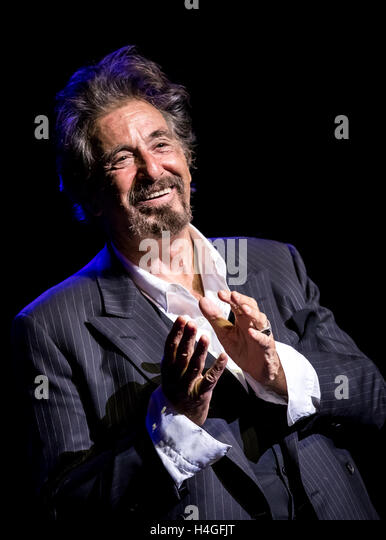 Las Vegas, NV, USA. 15th Oct, 2016. ***HOUSE COVERAGE*** An Evening With Al Pacino at The Opaline Theater at The - Stock Image