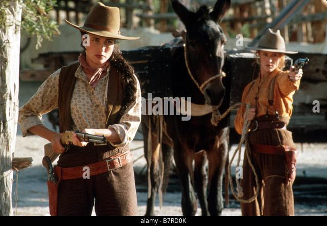 Les belles de l ouest Bad Girls Année 1994 usa Andie MacDowell Mary Stuart Masterson Réalisateur Jonathan - Stock Image
