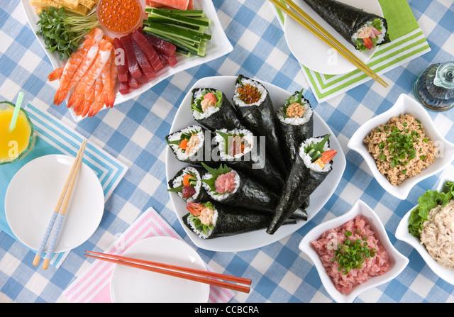 Temakizushi - Stock-Bilder