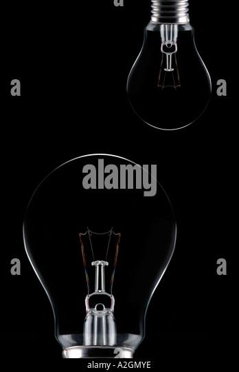 bulbs Gluehbirnen - Stock-Bilder