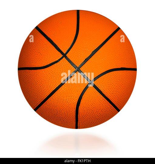 basket  ball - Stock Image