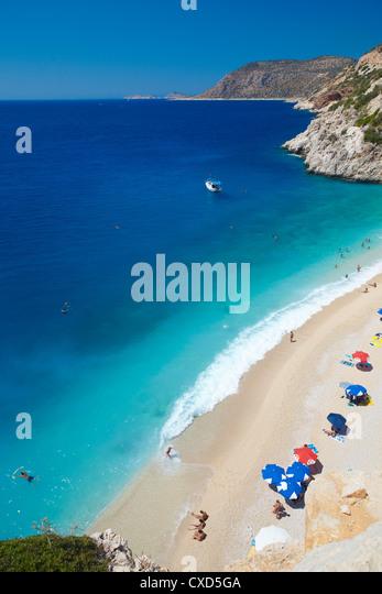 Kaputas Beach, Anatolia, Turkey, Asia Minor, Eurasia - Stock Image