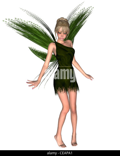 Fairy Tinkerbell - 3 - Stock Image