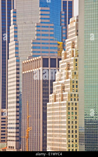 New York Architecture Abstract, - Stock Image
