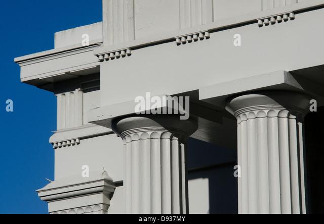 Columns Architecture Ancient Greek Stock Photos Vintage Columns