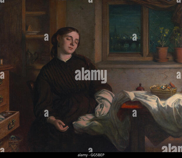 Charles West Cope - Home Dreams - Stock Image