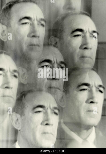 The Mexican actor Anthony Quinn - Stock Image