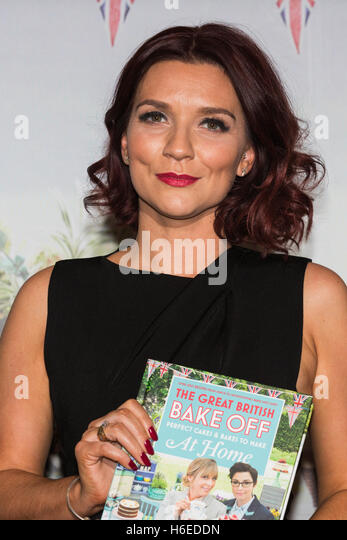 London, UK. 27 October 2016. Winner Candice Brown. The Great British Bake Off finalists Jane Beedle, Candice Brown - Stock Image