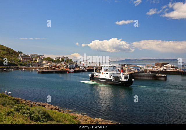 Mallaig Scotland Harbour Not Near Stock Photos Mallaig