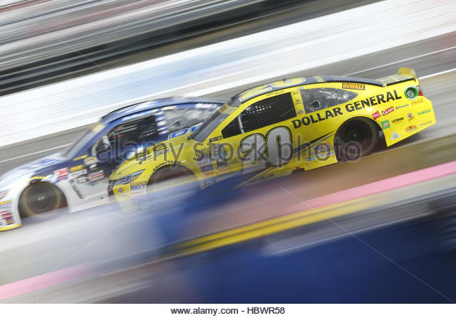 NASCAR: Oct 30 Goody's Fast Relief 500 - Stock-Bilder