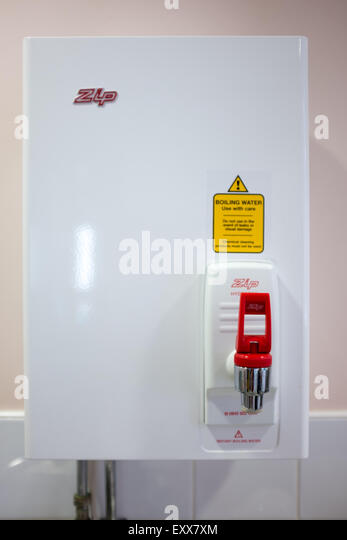 Zip Hydro boil wall mounted kitchen water heater - Stock Image