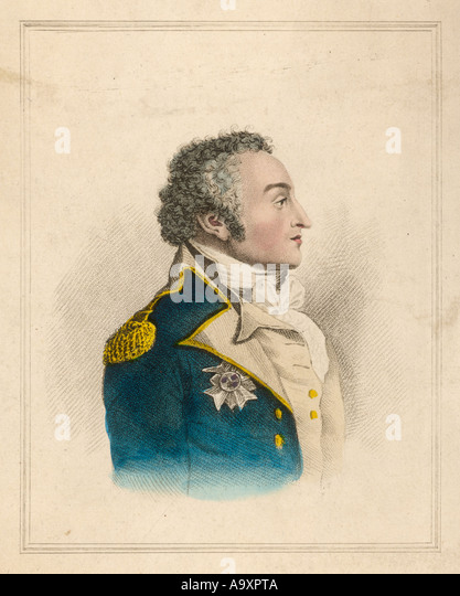William Sidney Smith Col - Stock Image