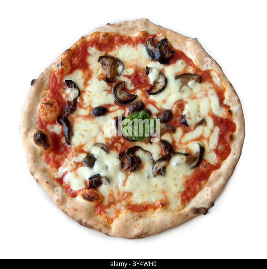 Traditional Oven Baked Pizza, Italy - Stock Image