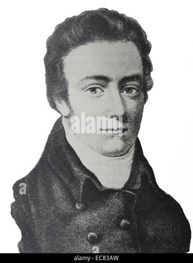 Portrait of Samuel Taylor Coleridge - Stock-Bilder