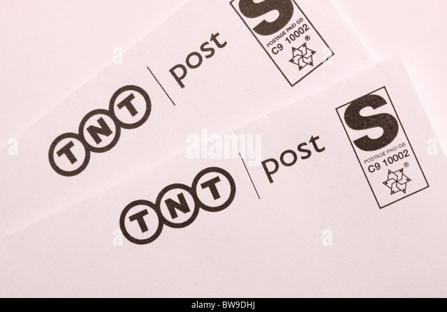 TNT Post letter postal mail delivery service - Stock Image
