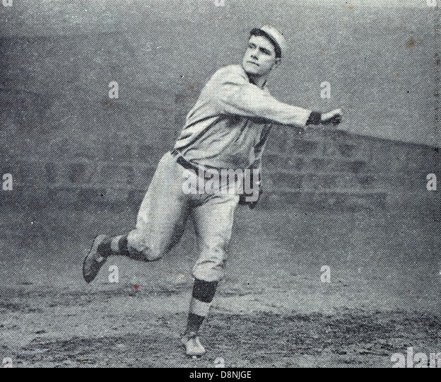 Russell Ford, baseball player - Stock Image
