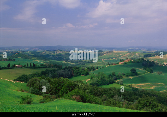 Landscape and horizon - Stock Image