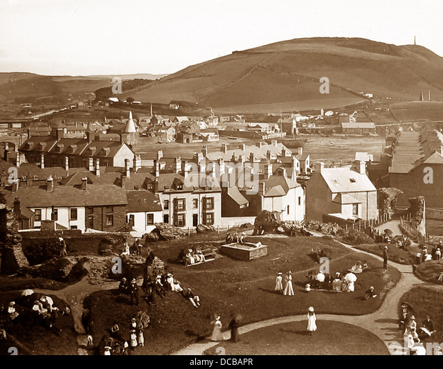 Aberystwyth early 1900s - Stock Image