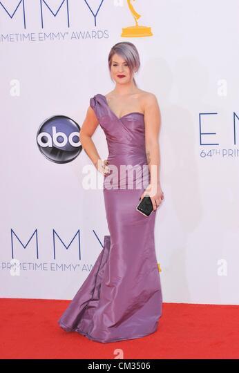 Kelly Osbourne arrivals64th Primetime Emmy Awards - ARRIVALS Nokia Theatre L.A LIVE Los Angeles CA September 23 - Stock-Bilder