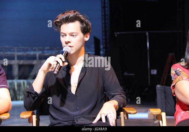 Harry Styles  07/09/2017 'Dunkirk' Press Conference held at the Barker Hangar in Santa Monica, CA   Photo: - Stock Image