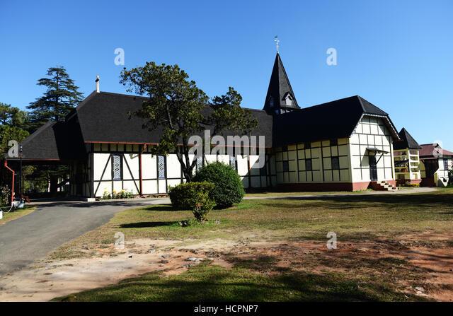 1902 All Saint's Church in Shillong, Meghalaya, India. - Stock Image