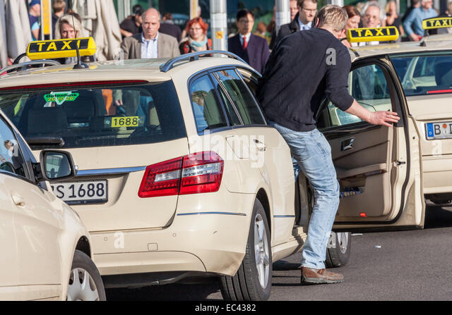 Taxi Holding Square Front Main Train Station Berlin Female Prison Inmate Black Hawk
