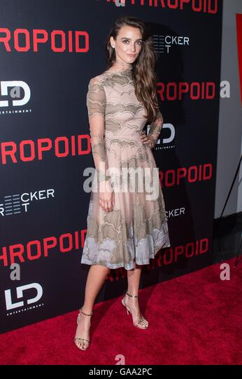 New York, NY, USA. 4th Aug, 2016. Charlotte Le Bon at arrivals for ANTHROPOID Premiere, AMC Loews Lincoln Square, - Stock-Bilder