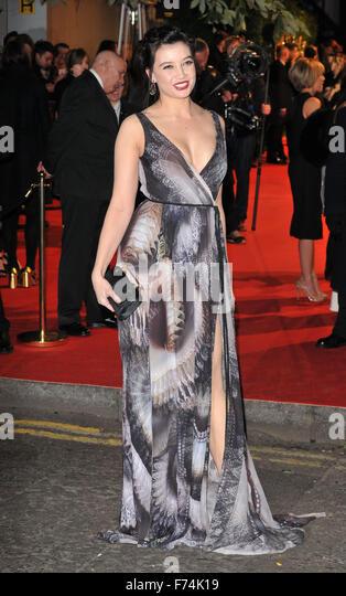 London, UK. Daisy Lowe at the British Fashion Awards 2015, London Coliseum, St Martin's Lane, London, England, - Stock Image