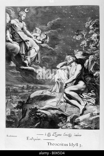 an analysis of the greek myth about selene and endymion Classical mythology- exam 1 part 2  most substantial and influential repertory of greek myth- a handbook in its own right- more than two hundred stories united by .