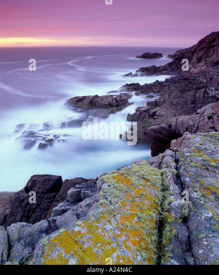 The coastline near Sheigra, near Kinlochbervie, Sutherland, Highland, Scotland, UK - Stock-Bilder
