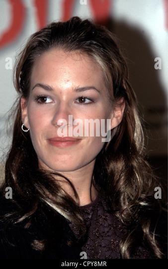 Potente, Franka, * 22.7.1974, German actress, portrait, 1998, - Stock Image