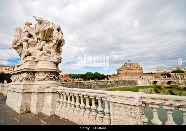 Ponte Vittorio Emanuele II - Stock Image