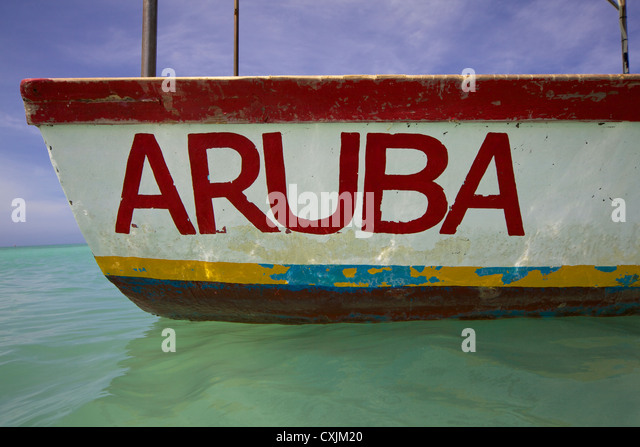 Caribbean aruba boat fishing stock photos caribbean Fishing in aruba