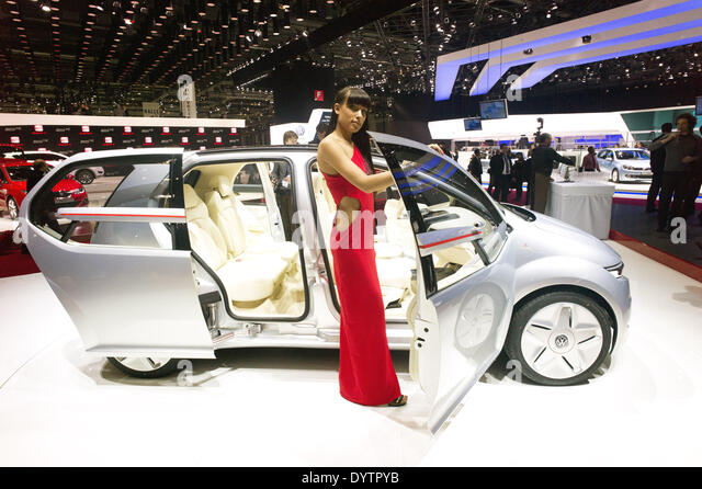Volkswagen Giugiaro concept car - Stock Image