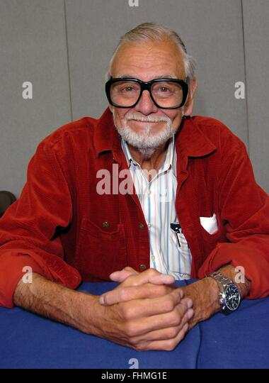 George A Romero at collectormania  12 - Stock Image