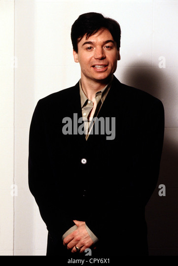 Myers, Mike, * 25.5.1963, Canadian actor, half length, 1997, - Stock Image