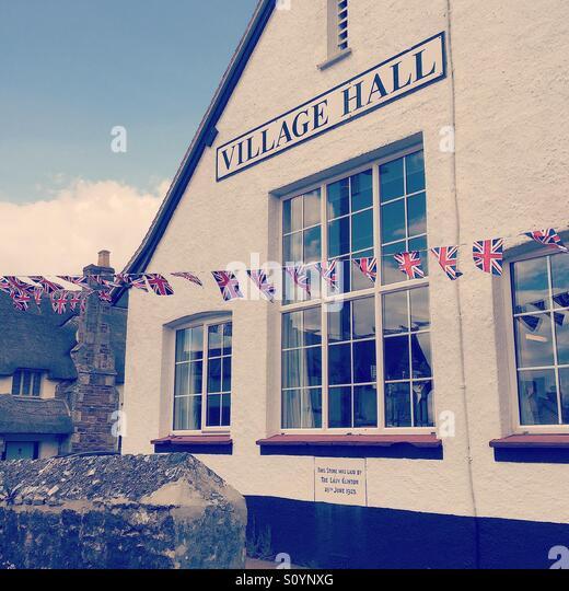 Otterton Village Hall, Devon - Stock Image