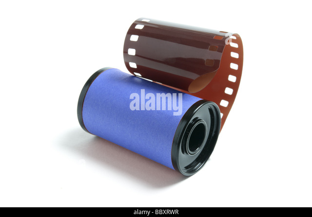 Camera Film - Stock Image