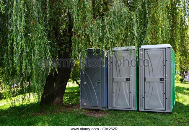 Swedish Portable Toilet : Outdoor public toilet stock photos