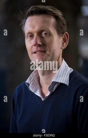 English Language and Literature Professor Robert Douglas Fairhurst. - Stock Image