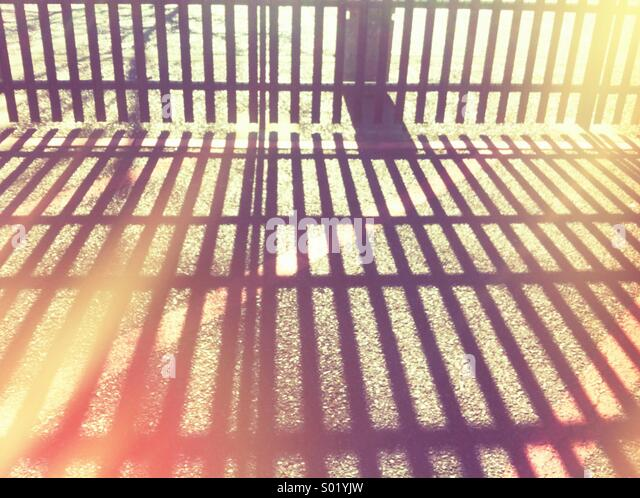 Fence - Stock Image