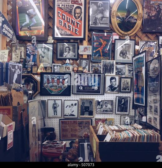 Antique Shop - Stock Image