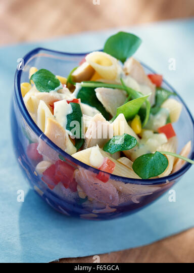 summer salad (topic: salads) - Stock Image