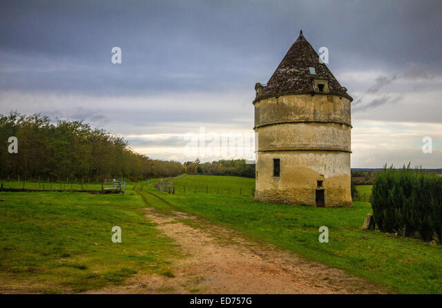 French farm house stock photos french farm house stock for Farmhouse tower